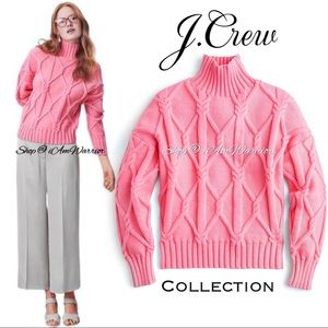 J. Crew Collection NWT cotton chunky knit sweater